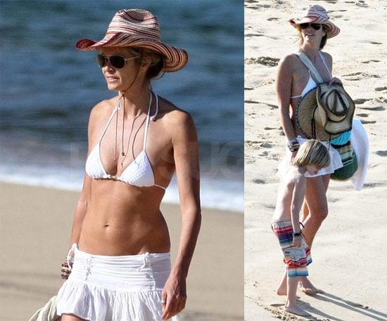 Photos of Elle Macpherson in a Bikini in Sydney, Australia