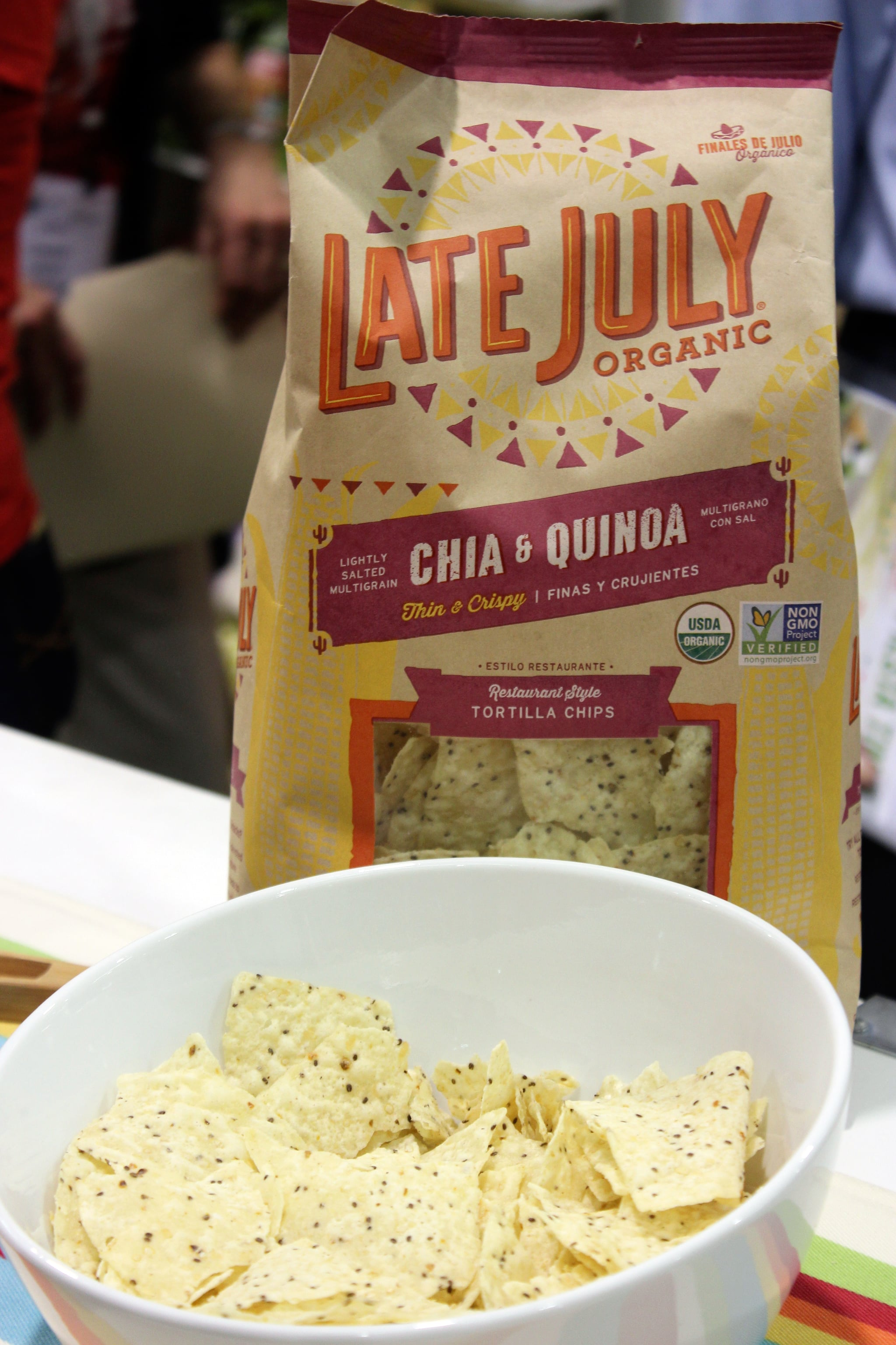 Late July Chia and Quiona Chips