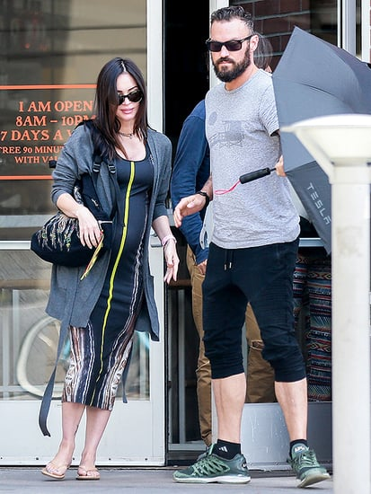 Pregnant Megan Fox and Brian Austin Green Grab a Post-Birthday Lunch In L.A.