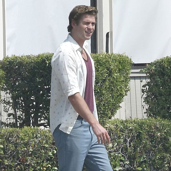 Liam Hemsworth Filming Empire State Pictures in New Orleans