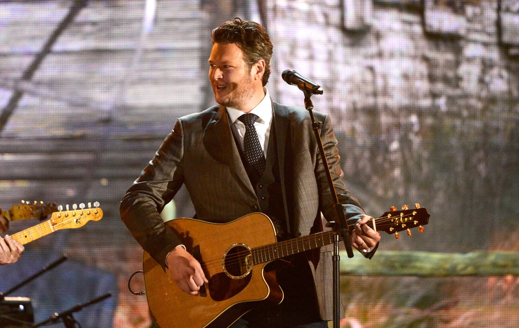 Blake Shelton performed with Willie Nelson, Kris Kristofferson, and Merle Haggard.