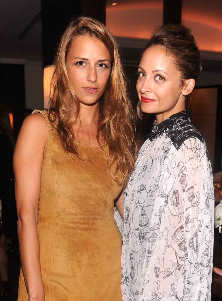 Charlotte Ronson supported Nicole Richie at the release of her new clothing collection.