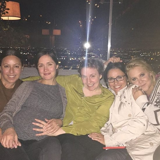 Rose Byrne Hangs Out With Lena Dunham and Amy Schumer
