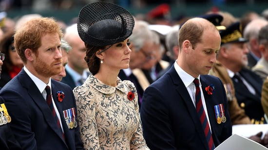 Kate Middleton, Prince William, Prince Harry Honor Fallen Soldiers at Somber Memorial Service