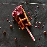 Chocolate Covered Cherry Waffle Sticks