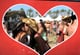 Two women kissed at Stagecoach country music festival in Indio, CA.