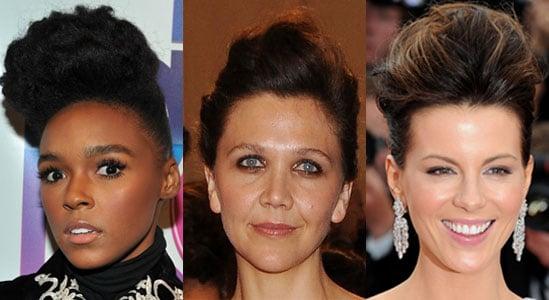 Pictures of Celebrities Wearing Pompadours