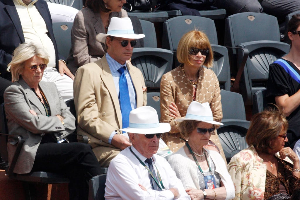 Anna Wintour Left Jason Wu's Show to Go Watch Roger Federer Play