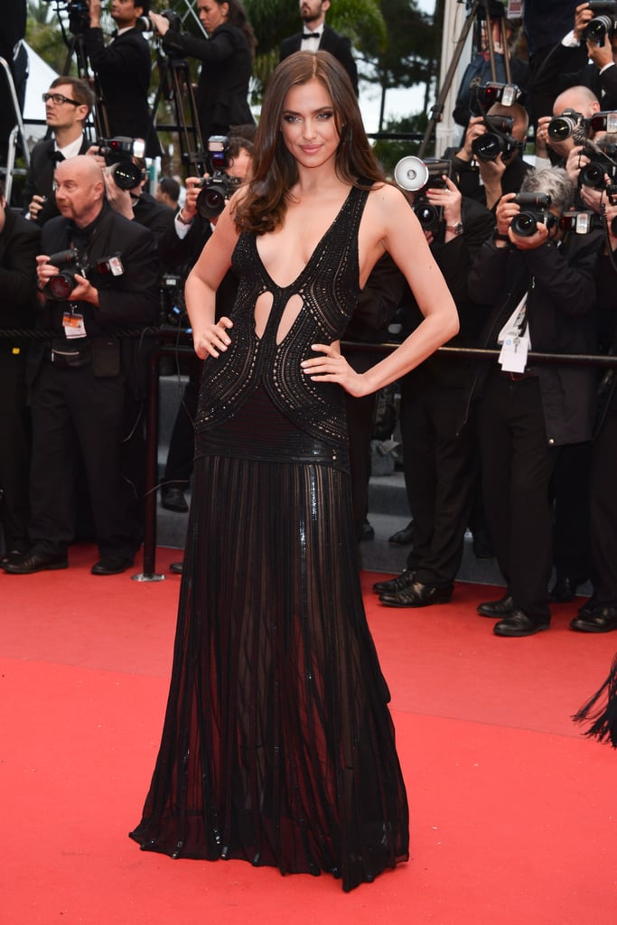 Irina Shayk at the Cannes premiere of All Is Lost.