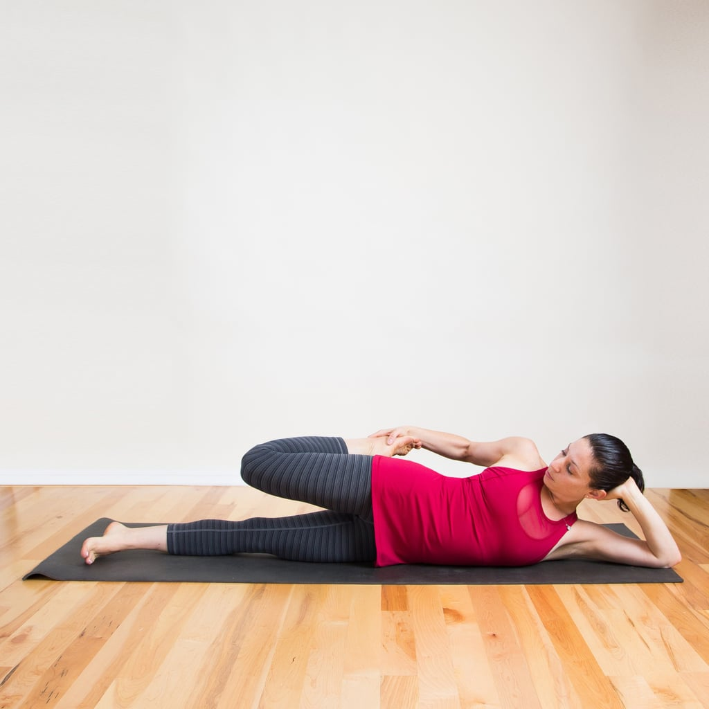 Lying Side Quad Stretch