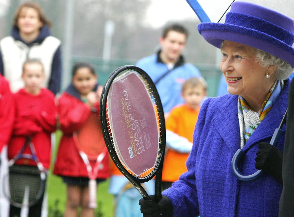 Least: When She Picked Up a Tennis Racket