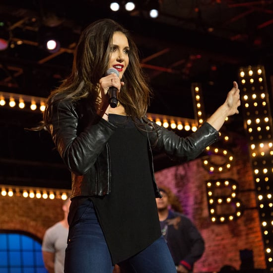 Nina Dobrev Lip Sync Battle Video