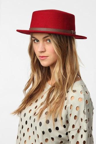 Brixton Avenue Boater Hat