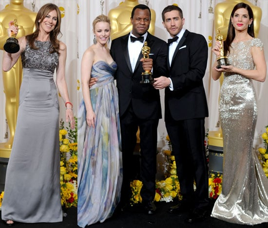 Photos of Sandra Bullock, Kathryn Bigelow, and More in the 2010 Oscars Press Room 2010-03-08 07:25:49