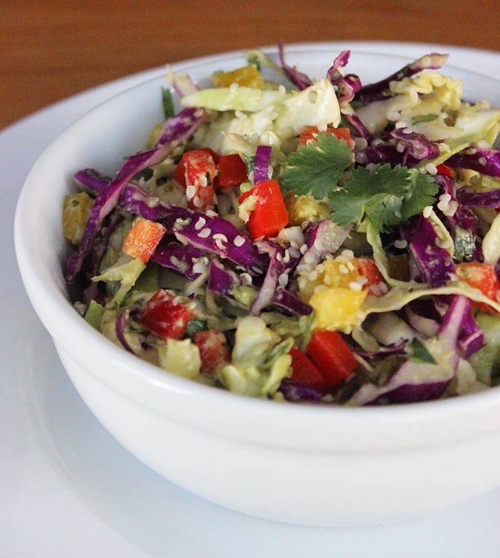 Cabbage Avocado Slaw