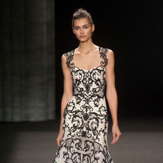Monique Lhuillier Fall 2014 Runway Show   NY Fashion Week