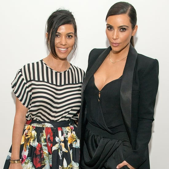 Kim and Kourtney Kardashian Outfits
