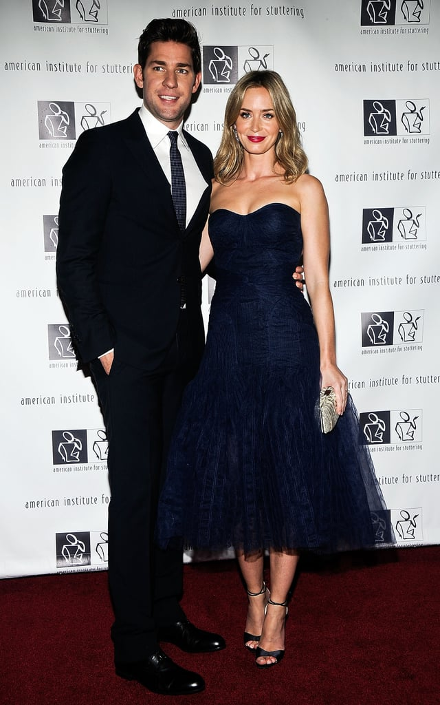 """John and Emily on the red carpet at the """"Freeing Voices, Changing Lives"""" benefit gala in NYC in June 2013."""