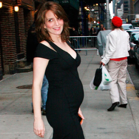 Pregnant Tina Fey's Baby Bump Pictures