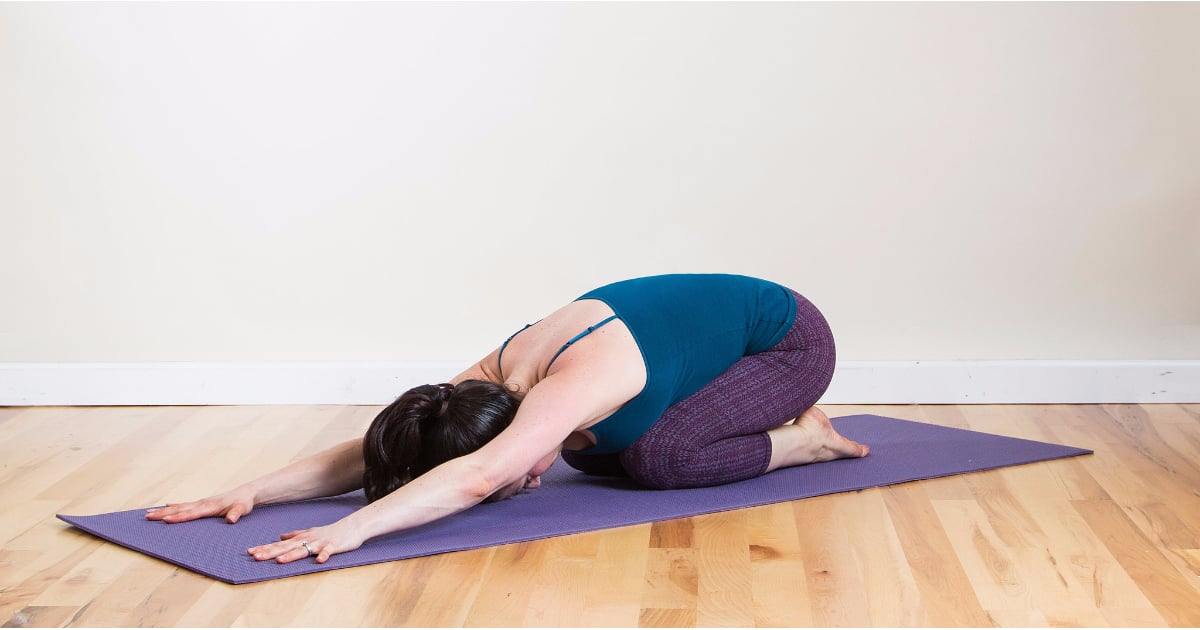 Easy and Relaxing Yoga Poses   POPSUGAR Fitness