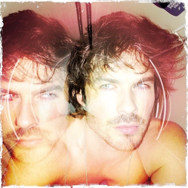 Ian Somerhalder let us live in a dreamworld where there are two of him. Source: Instagram user iansomerhalder