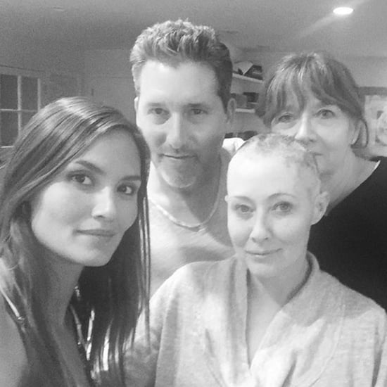 Shannen Doherty Shaves Her Head For Breast Cancer
