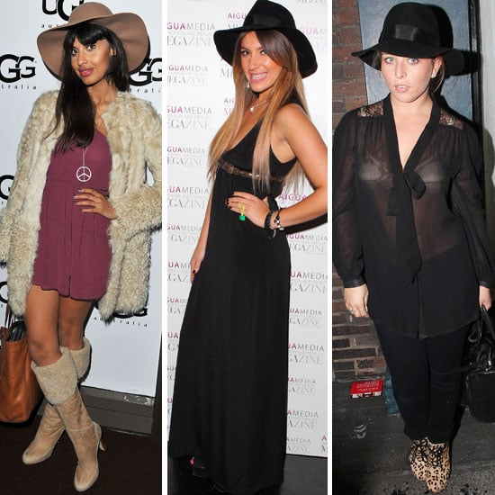 Celebrities Wear Floppy Hats on the Red Carpet