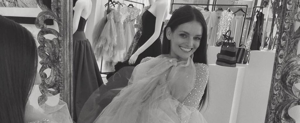 Christian Siriano Custom-Made Lydia Hearst's Wedding Dress — and It's Every Bit as Magical as You'd Expect