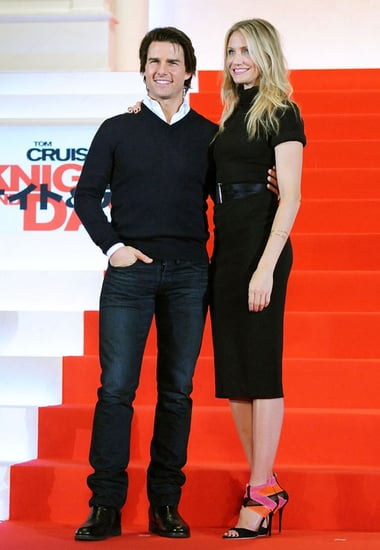 Tom Cruise and Cameron Diaz Promoting Knight and Day in Tokyo, Japan