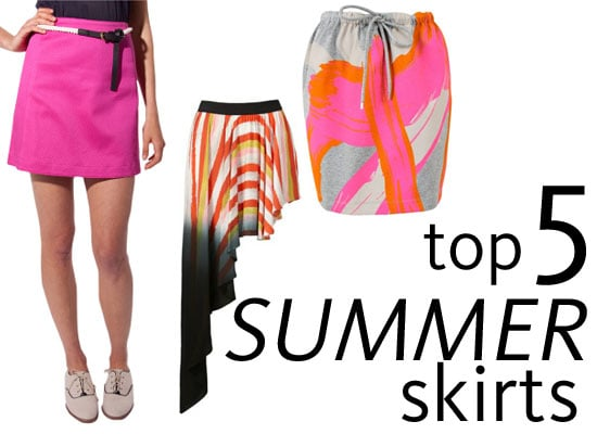 Five of the Best Summer Skirt Styles We Found Online: A Line, Graphic Prints, Asymmetrical Hems from sass & bide, SABA & more