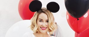 Lauren Conrad Makes Us Want to Dress Like Minnie Mouse