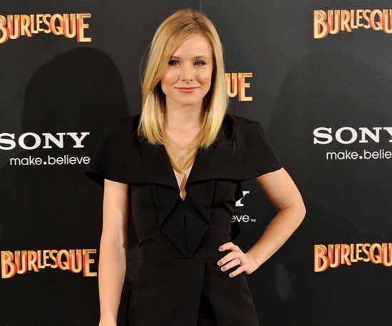 Slide Picture of Kristen Bell Promoting Burlesque in Spain