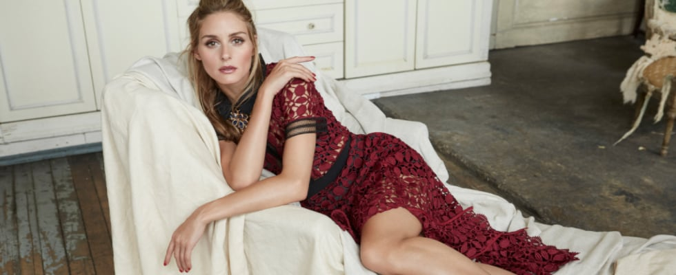 Olivia Palermo Is Wearing the Most Romantic Dresses You've Ever Seen