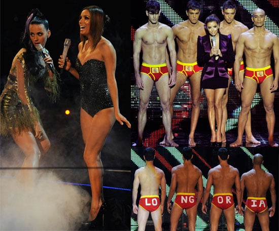 Pictures from MTV EMAs Show