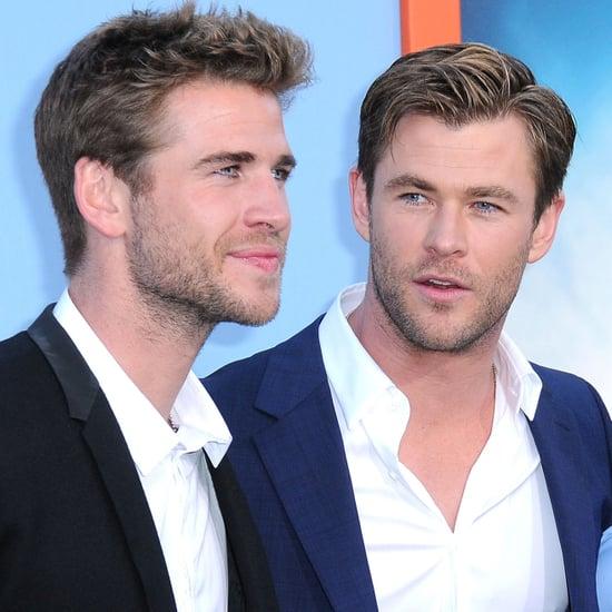 Chris Hemsworth and Liam Hemworth's Instagram War 2015