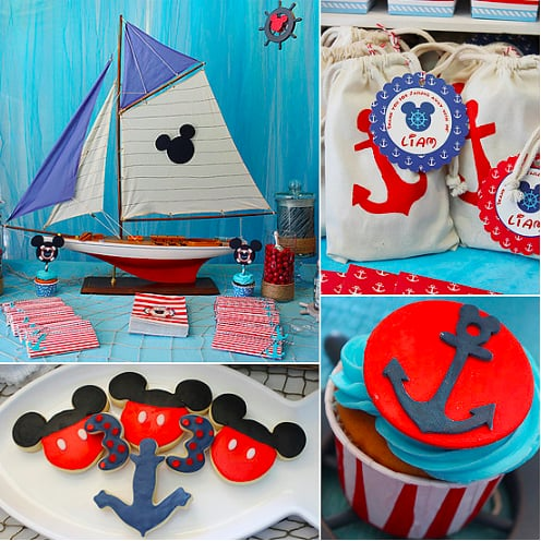 A Nautical Mickey Mouse Party
