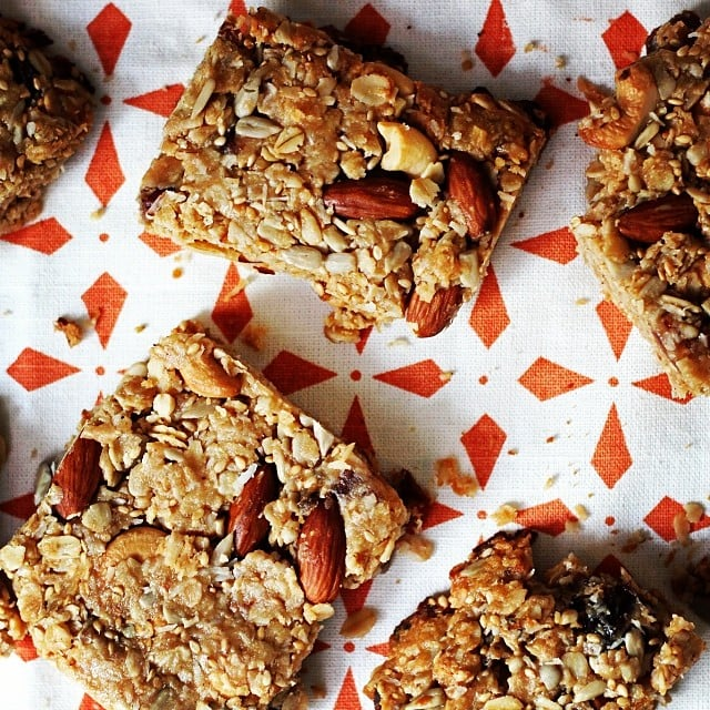 Coconut almond energy bars are your friend. They're so delicious, we insist you try them. Full recipe here!