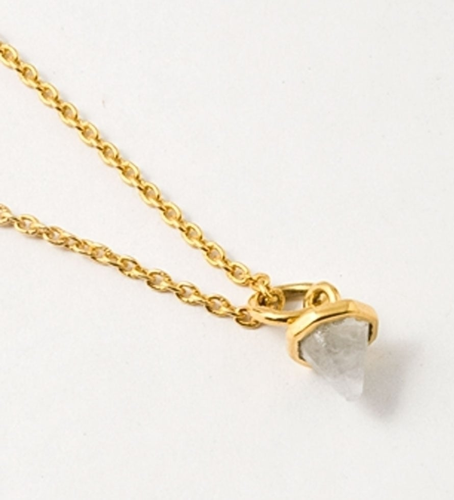 For the younger mom, this diminutive Katie Diamond Astrid necklace ($98) is the perfect everyday piece.