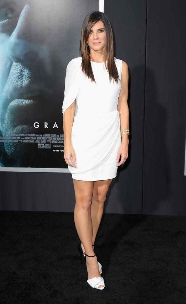 Sandra Bullock at the New York Premiere of Gravity