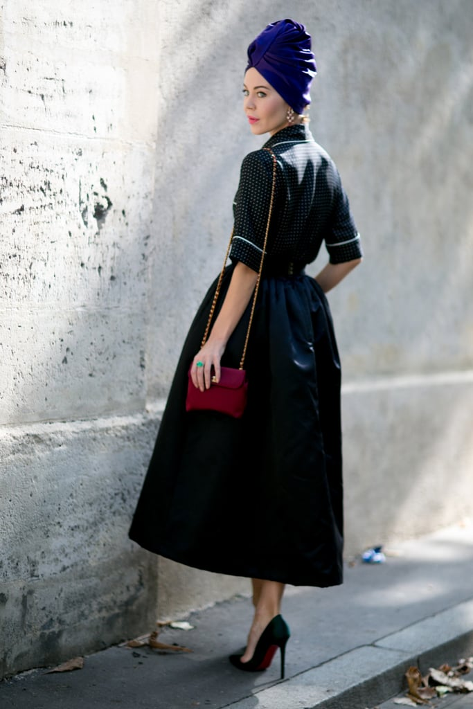 Ulyana Sergeenko knows how to turn heads with ease.