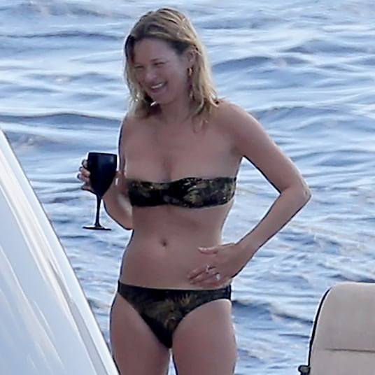 Kate Moss Wears a Bikini in St. Barts