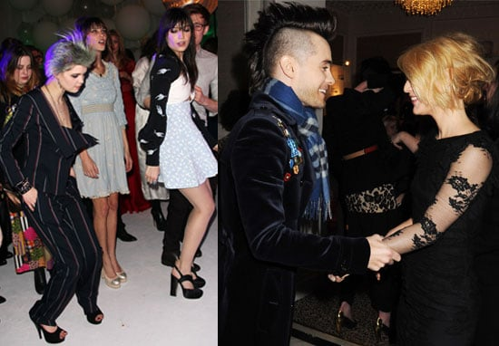 Photos of Elle Style Awards Afterparty with My So-Called Life Reunion Between Jared Leto and Claire Danes, Alexa Chung Dancing 2010-02-23 02:13:02