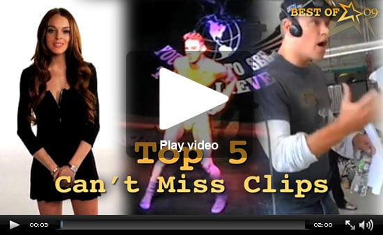 Channing Strips, Lindsay Dates and Damon Rants on the Top 5 Can't Miss Clips of 2009!