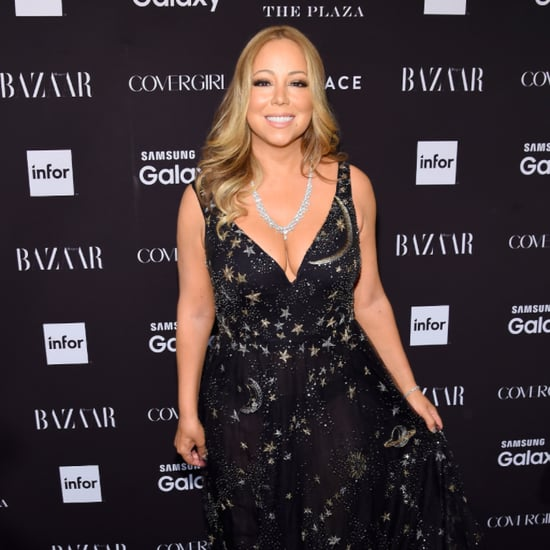 Mariah Carey Makes a Dazzling Appearance During New York Fashion Week