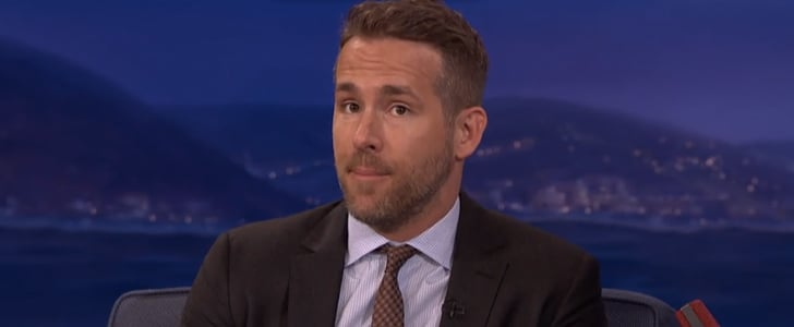 """Ryan Reynolds Jokes About Baby James's First Words, Gushes Over """"Mercenary"""" Blake Lively"""