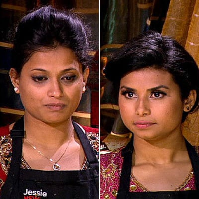 My Kitchen Rules 2013: Jessie and Biswa Score 41 Points