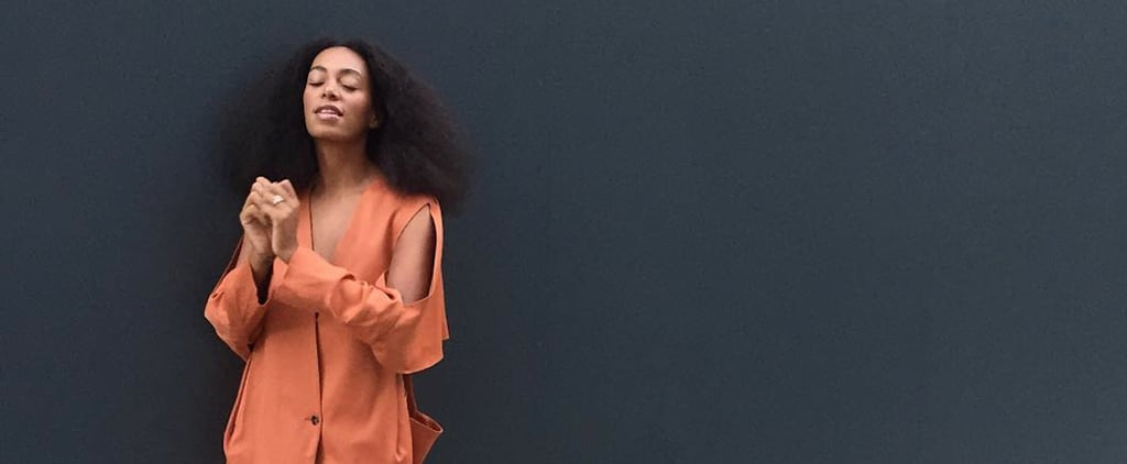 Solange's Signature Color (Almost) Rhymes With Her Name