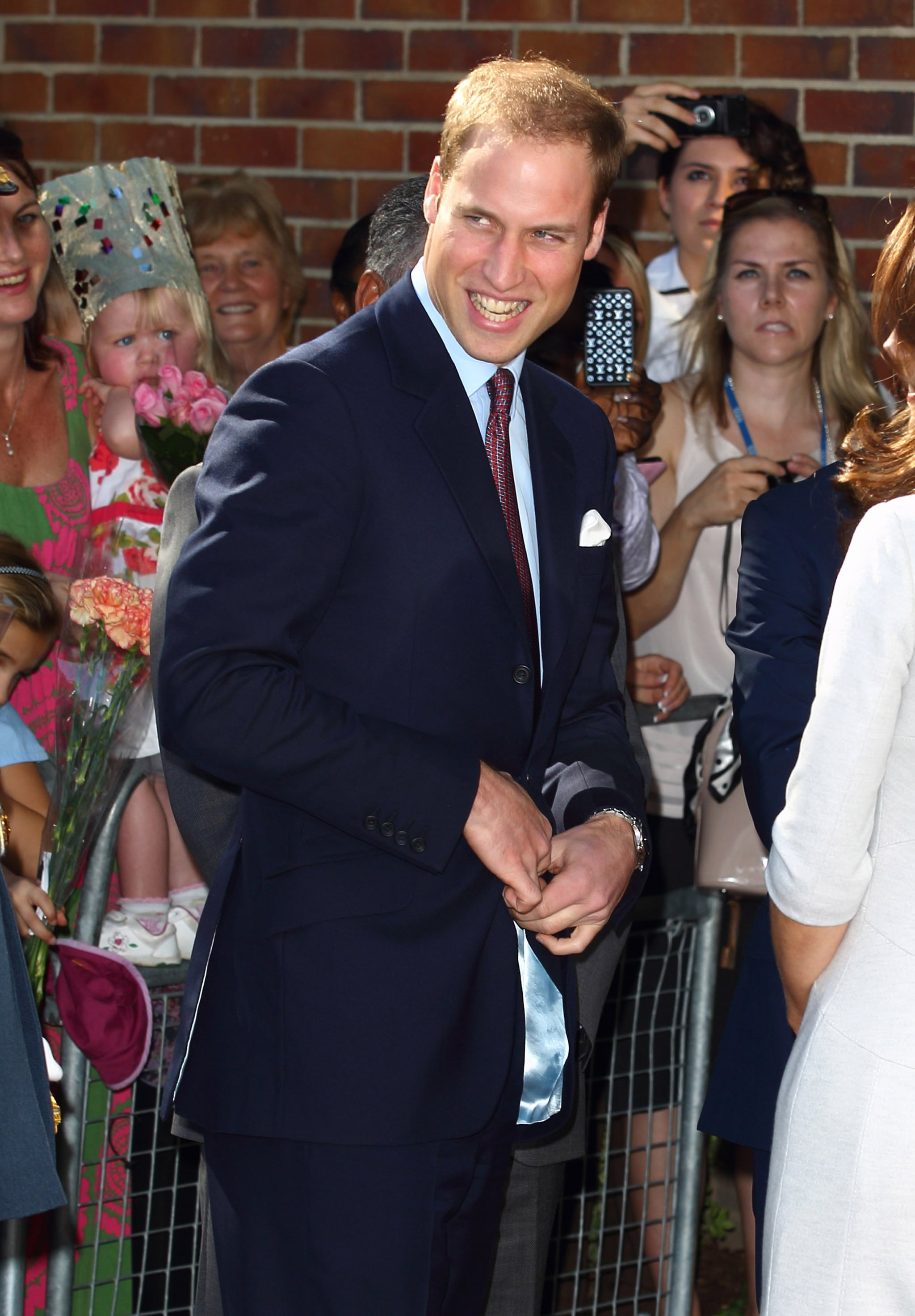 Prince William was on hand to open the Oak Center For Children and Young People.