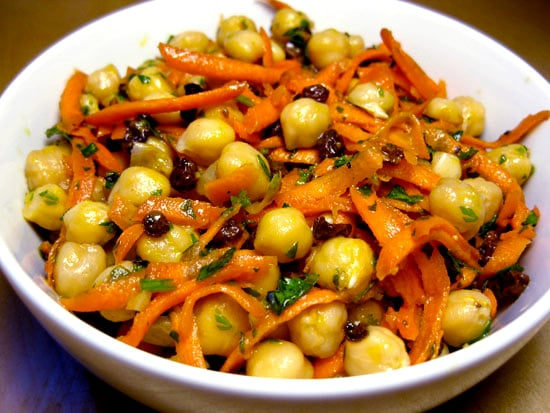 Recipe for Chickpea, Carrot, and Currant Salad
