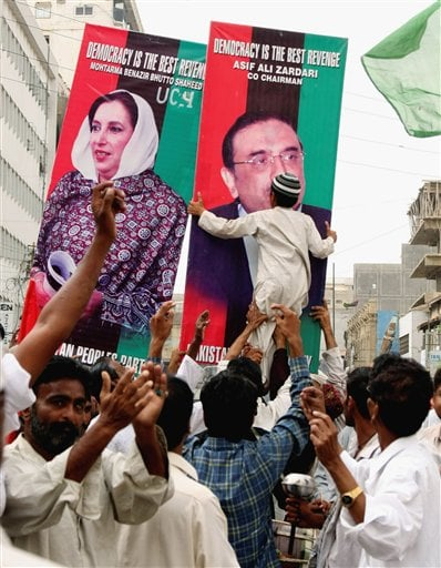 Bhutto Widower Elected Pakistani President